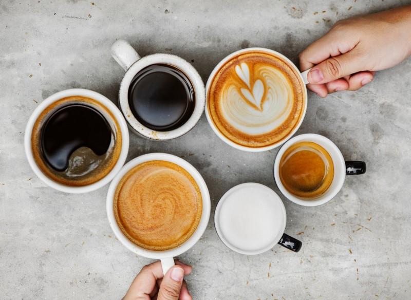 Soorten kopjes koffie